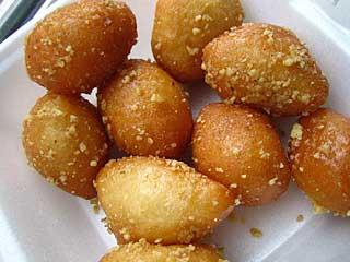 Greek pastry - Loukoumades (honey puffs)