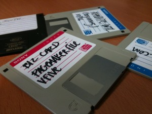 My last floppy disks