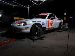 Setup is everything - here Tim Barber of TFB Performance helps us get it right for morning qualifying