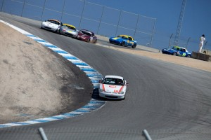 Leading the pack through the corkscrew