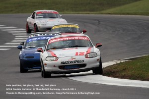 Thunderhill Double National - 1st, 2nd, fast lap, pole position