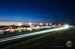 Nightime at Thunderhill
